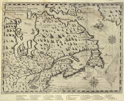 French Canada Map by New France Library And Archives Canada Blog