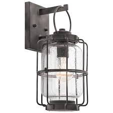 Kichler Outdoor Wall Sconce Shop Outdoor Wall Lighting At Lowes Com