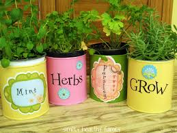 kitchen christmas gift ideas 7 easy diy garden gift ideas tin can herb container gardens make