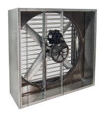 Vik Cabinet Exhaust Fan W Shutters 42 Inch 13000 Cfm Belt Drive 3