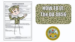 Army Power Of Attorney Form by The Da Form 4856 Developmental Counseling Form Guidelines