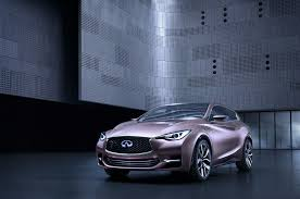rose gold infiniti car infiniti q30 concept first look motor trend