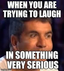 Simon Meme - trying not to laugh simon memes imgflip