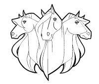 hd wallpapers horseland coloring pages wallpapershwallg3d cf