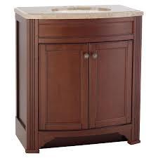 Insignia Bathroom Vanity by Kraftmaid Bathroom Vanities Lowes Style Selections Delyse Auburn