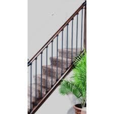 home hardware 8 u0027 axxys hemlock stair rail kit