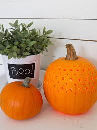 how to make a pretty fretwork pumpkin hgtv