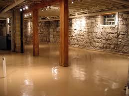 trends decoration raised basement flooring ideas