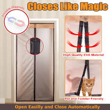 Where Can You Buy Door Beads by Magnetic Thermal Insulated Door Curtain Enjoy Your Cool Summer And