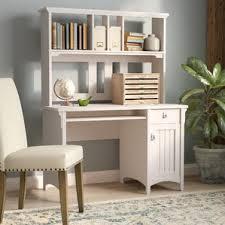 Black Computer Desk With Hutch Hutch Desks You U0027ll Love Wayfair