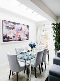 Glass Dining Room Table Houzz - Glass dining room tables