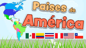 Map In Spanish Countries Of America In Spanish Map Flags And Capitals Youtube