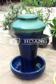 Glazed Ceramic Pots New Design Outdoor Glazed Ceramic Decoration Pots Outdoor Glazed