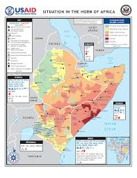 Map Of Kenya Africa by Democracy And Famine In The Horn Of Africa Evan Lieberman
