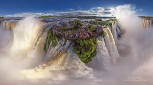 famous waterfalls in the world waterfalls around the world 360 aerial panoramas 360 virtual
