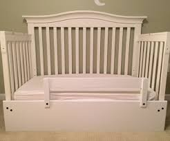 Convert Crib Into Toddler Bed Bedroom Rail Cribs Turn Into Beds Astounding Baby Convert