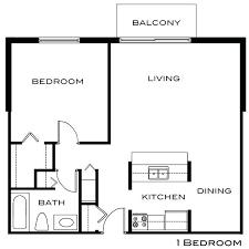 beautiful one bedroom floor plan la vie flats with one bedroom