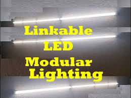linkable linear led modular integrated light fixture