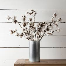 Vase With Twigs Cotton Stem Magnolia Market Chip U0026 Joanna Gaines