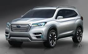 subaru suv concept interior 2019 subaru ascent price specs and release date new concept cars