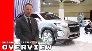 New Subaru 7 Seater Subaru Viziv 7 Suv Concept Overview Youtube
