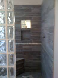 Shower Designs Images by Glass Block Shower Designs