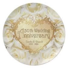50th wedding anniversary plates 15 best 50th wedding anniversary plates images on