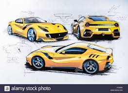 ferrari sketch concept car sketch stock photos u0026 concept car sketch stock images