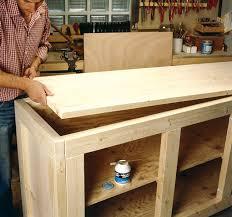 comment faire un bar de cuisine fabriquer meuble de cuisine bois homewreckr co