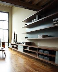 Living Room Shelving Units by Integrated Shelving Unit