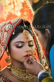 makeup artist in bridal makeup by mj in lucknow professional makeup artist