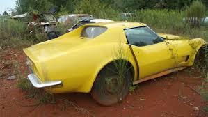 1966 corvette parts for sale pics sad 1971 corvette barn find being sold as a parts car