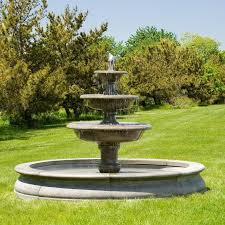 l with water fountain base large outdoor fountains free shipping on all big water features