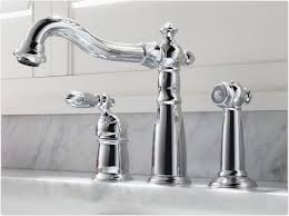 Replacing A Kitchen Sink Faucet Delta 155 Dst Victorian Single Handle Kitchen Faucet With Spray