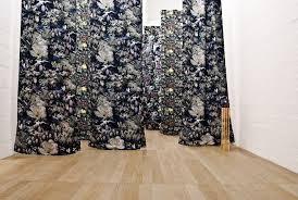 beautiful fabrics wallpaper giusy pirrotta installation