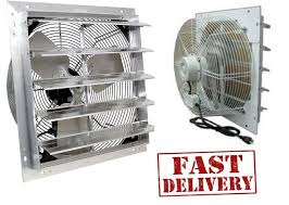 shutter exhaust fan 24 24 industrial exhaust shutter fan 2 speed and 50 similar items