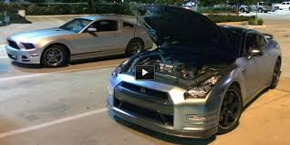 nissan gtr vs mustang nissan archives page 49 of 71 muscle cars zone