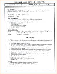 Tour Manager Job Description 8 Front Desk Job Description Invoice Template Download