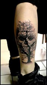 16 beautiful tree tattoos that will be your obsession skull