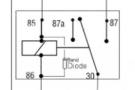 how to wire a 5 pin automotive relay wiring diagram