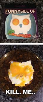 Please Kill Me Meme - thought i d make myself a cute breakfast this morning funny