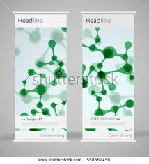 fancy brochure templates brochure cover design abstract roll up stock vector 558562456