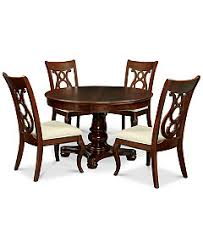 bordeaux pedestal round dining room furniture collection created