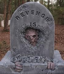 revenge tombstone hauntforum props pinterest halloween
