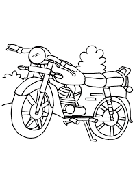 motorcycle coloring page download free motorcycle coloring page
