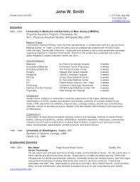 Curriculum Vitae Samples In Pdf by 100 Sample Resumes Sample Resume For Tle Teacher Templates