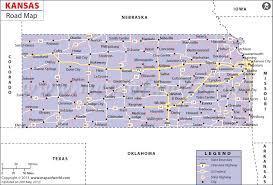map us states highways kansas road map highway map of kansas