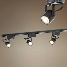 floating canopy track lighting pro track black 150 watt 3 light low voltage track kit style