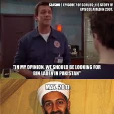 Janitor Meme - the janitor knew where osama bin laden was 5 years before he was
