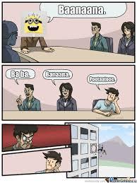 Minions Banana Meme - banana minion by vire gay meme center